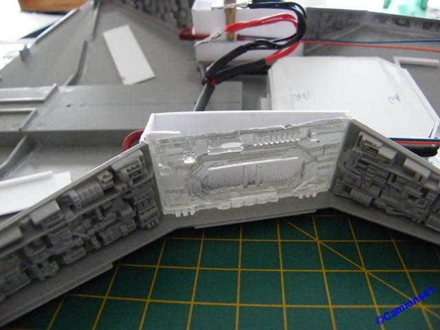 REPUBLIC STARDESTROYER REVELL - MONTAGE & ECLAIRAGE - Page 6 SSCF0850